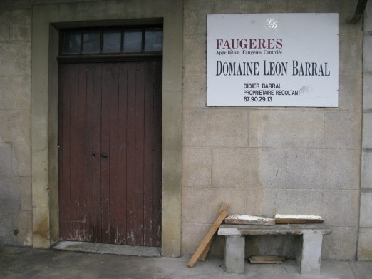 Domaine Leon Barral biodynamic wine estate Languedoc Faugeres