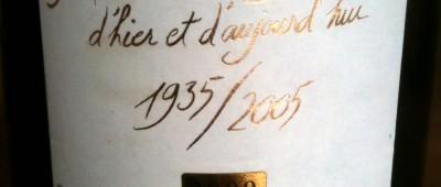 Cave de Sablet Cotes du Rhone Memoire de Vignerons 2009