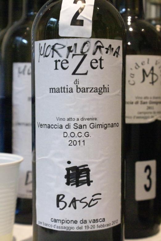 Mattia Barzaghi Vernaccia di San Gimignano 2011