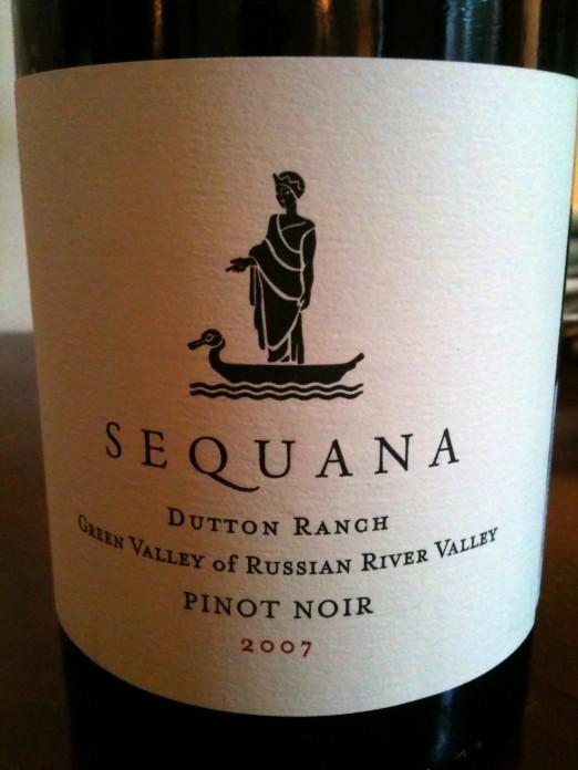 Sequana Vineyards Dutton Ranch Pinot Noir 2007