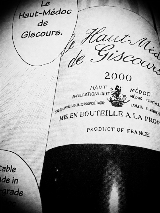 "Le Haut-Medoc de Giscours 2000 - sprzedano jako ""best value for money"""