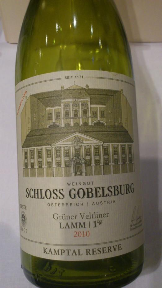 Gobelsburg, Gruner Veltliner, Austria