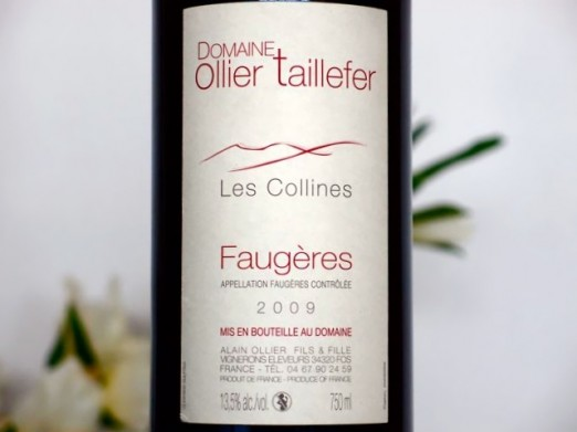 Domaine Olllier-Taillefer Les Collines 2010