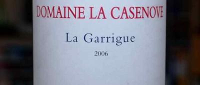 Domaine La Casenove Cotes Catalanes La Garrigue 2006