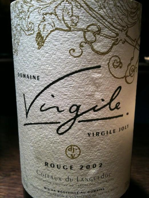 Domaine Virgile Joly Rouge 2002