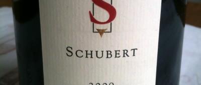 Schubert Vineyards Wairarapa Pinot Noir 2009
