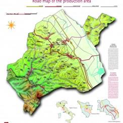 Vino Nobile di Montepulciano map