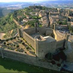 Montalcino fortezza Tuscany Italy