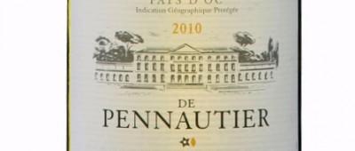 Vignobles Lorgeril Pays d'Oc Viognier de Pennautier 2010