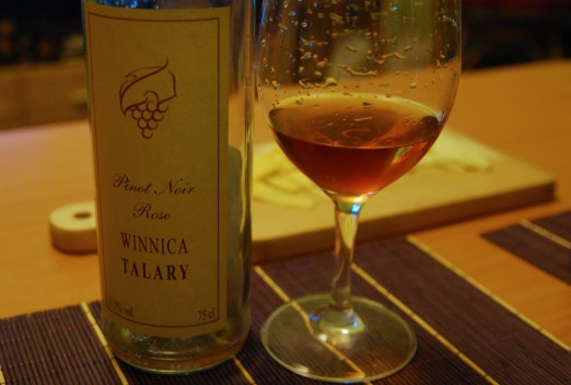 Winnica Talary Pinot Noir rose