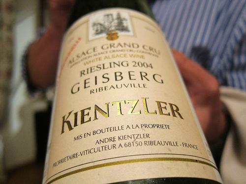 Kientzler Riesling Geisberg 2004