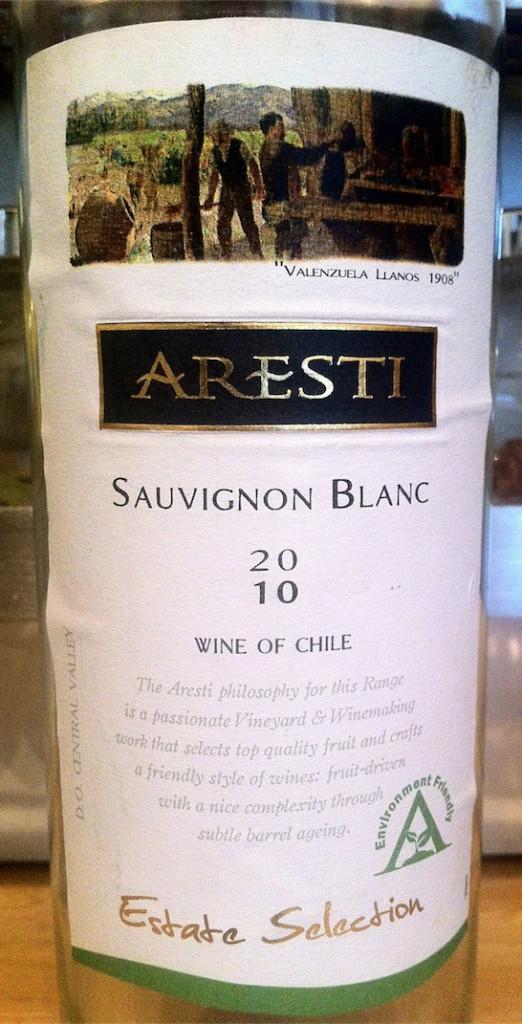 Aresti Sauvignon Blanc 2010 Central Valley