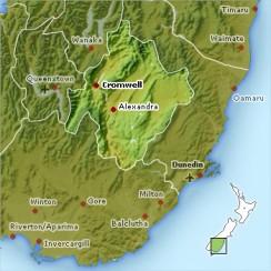 Central Otago Nowa Zelandia