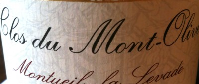 Clos du Mont-Olivet Côtes du Rhône Monteuil-la-Levade 2009