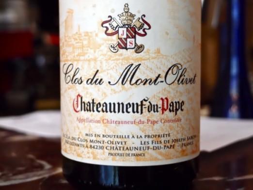 Clos du Mont-Olivet Chateauneuf-du-Pape 2009