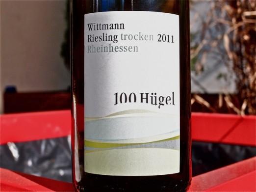 Wittmann 100 Hugel Riesling Trocken 2011.