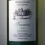 Winnica Solaris Tramini 2011