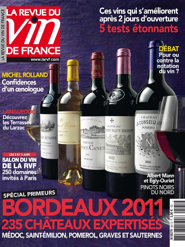Przewietrzanie czerwonego winicjatywa for Revue vin de france