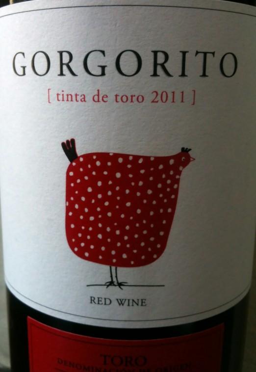 Copaboca Gorgorito Tinta de Toro 2011