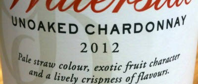 Graham Beck Waterside Unoaked Chardonnay 2012