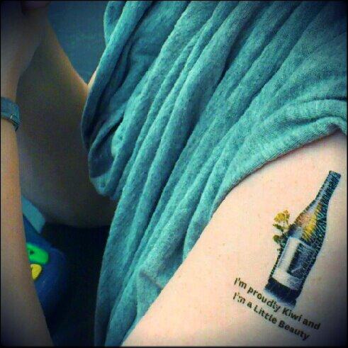 Little Beauty tattoo