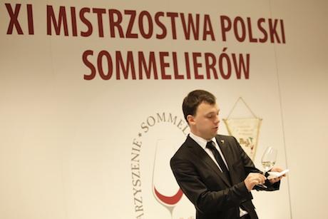 XI mistrzostwa polski sommelierów Paweł Demianiuk