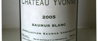 Chateau Yvonne Saumur Blanc 2005 Winkolekcja