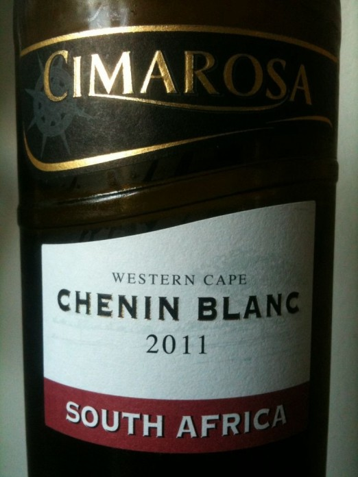 Cimarosa Chenin Blanc 2011 Lidl