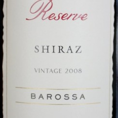 Jacob's Creek Reserve Barossa Shiraz 2009