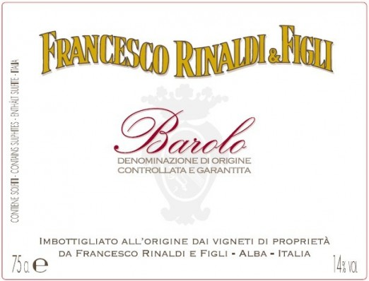 Francesco Rinaldi Barolo Enoteka Polska