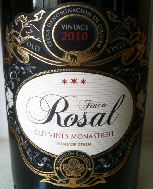 Vinnico Yecla Monastrell Old Vines Finca Rosal 2010