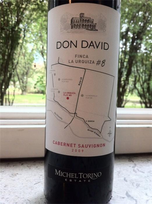 Michel Torino Don David Finca La Urquiza Cabernet Sauvignon 2009