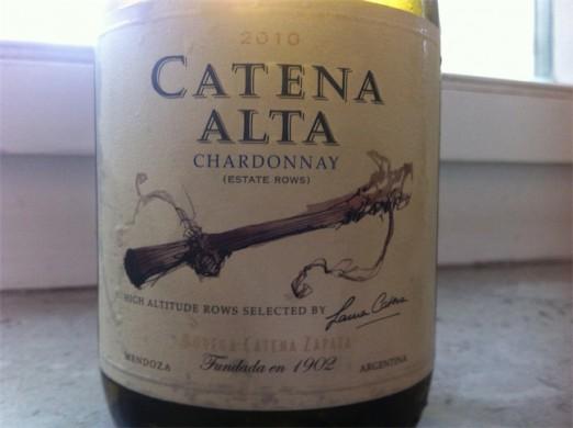 Zapata Catena Alta Chardonnay 2010
