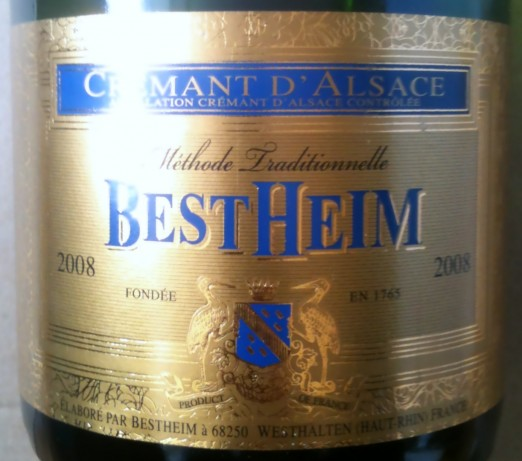 Bestheim Cremant d'Alsace 2008