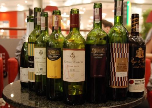 bitwa na wino Rioja vs Navarra Winni Poznania