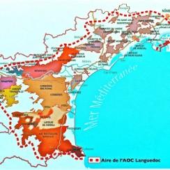Langwedocja mapa