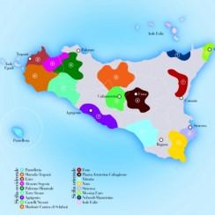 Sycylia mapa