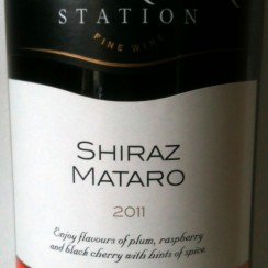 Banrock Station South Eastern Australia Shiraz Mataro 2011