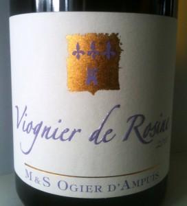 M&S Ogier Viognier de Rosine 2010