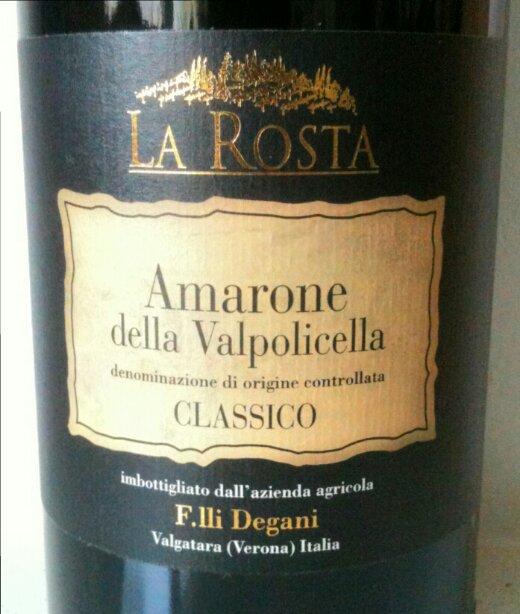 Fratelli-Degani-Amarone-della Valpolicella-La-Rosta 2008