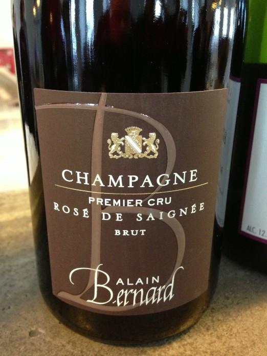 Alain Bernard Champagne Brut Rosé de Saignée