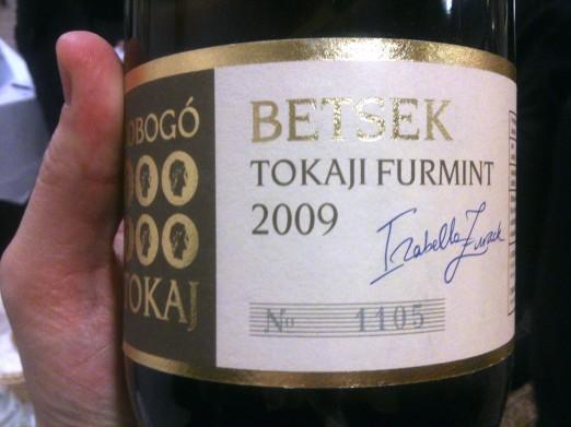 Dobogó Tokaju Furmint Betsek 2009