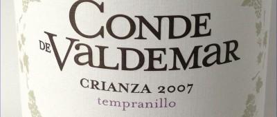 Bodegas Valdemar Rioja Conde de Valdemar Crianza 2007