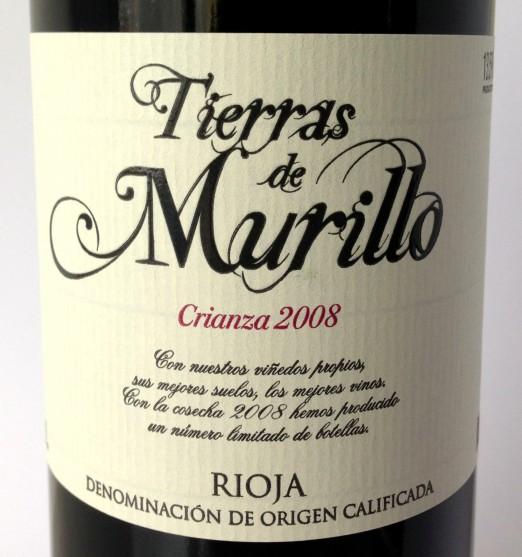 Coop San Esteban Rioja Crianza Tierra de Murillo 2008