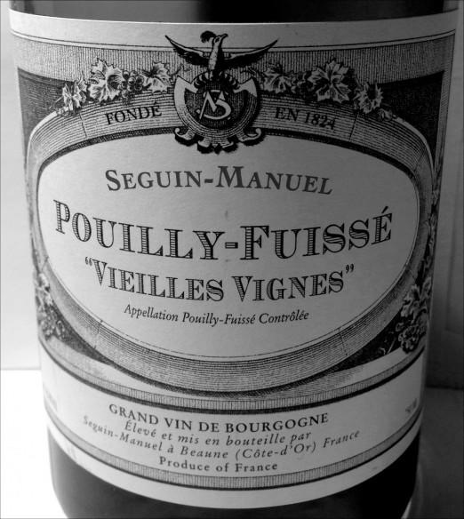 Seguin-Manuel Pouilly-Fuisse Vieilles Vignes 2010