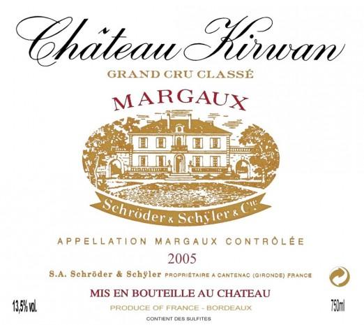 Château Kirwan 2005