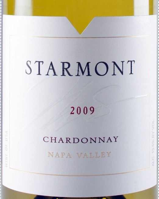 Merryvale Napa Valley Starmont Chardonnay 2010