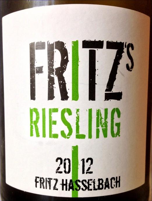 Gunderloch Fritz's Riesling 2012