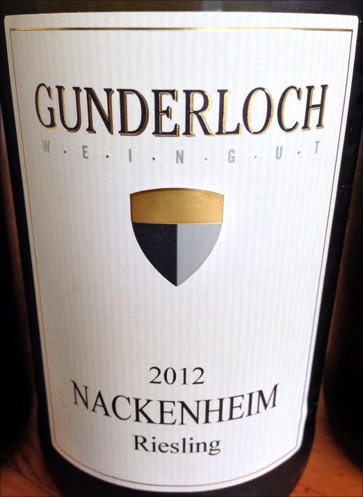 Gunderloch Nackenheim Riesling trocken 2012