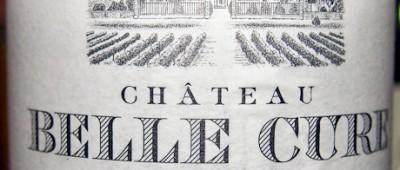 Château Belle-Cure Bordeaux Sauvignon 2012